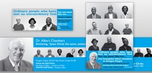 Leaflets & Posters for Hackney-based Ministry