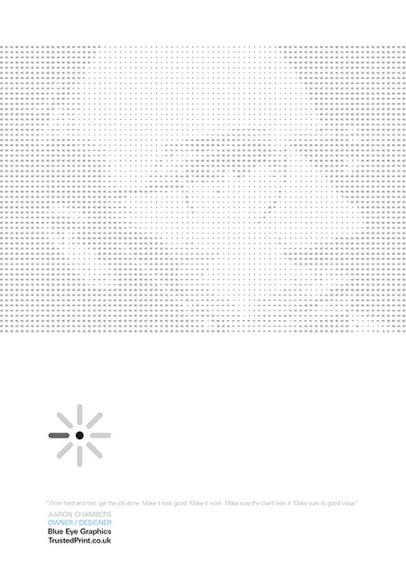 Pattern poster design