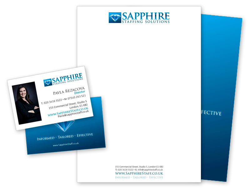 Sapphire Stationery Design & Printing